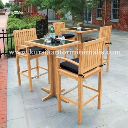 Jual Set Meja Kursi Cafe Outdoor