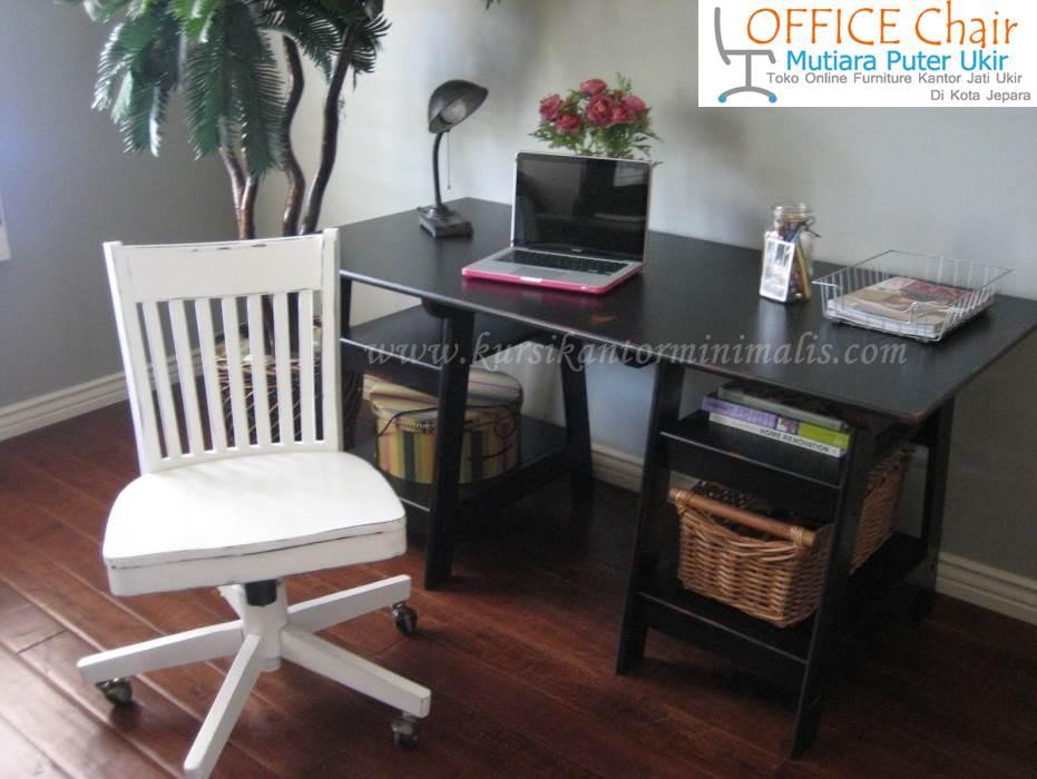 Set Meja Dan Kursi Kantor Minimalis