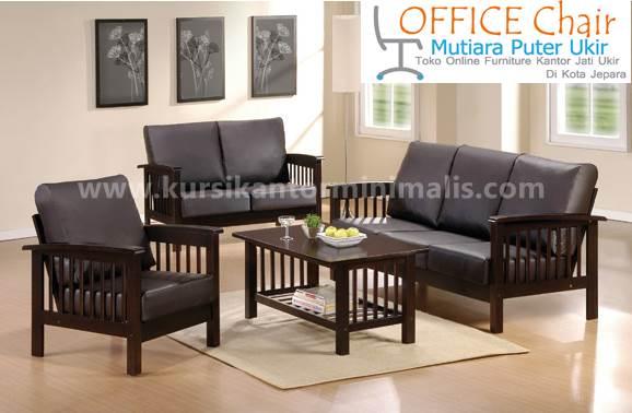 Set Meja Kursi Ruang Tamu Model Minimalis