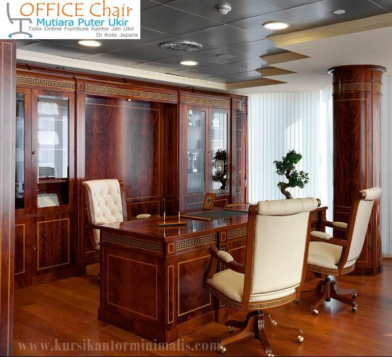 Set Meja Kursi Kantor Direktur