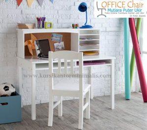Set Meja Kursi Belajar Anak Duco Putih