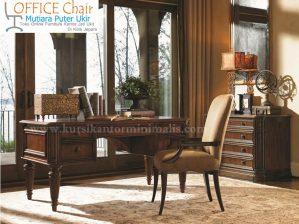 Set Meja Dan Kursi Kantor Model Klasik