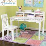 Set Meja Kursi Belajar Duco Putih